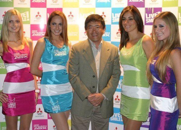 Anfitrionas Mitsubishi